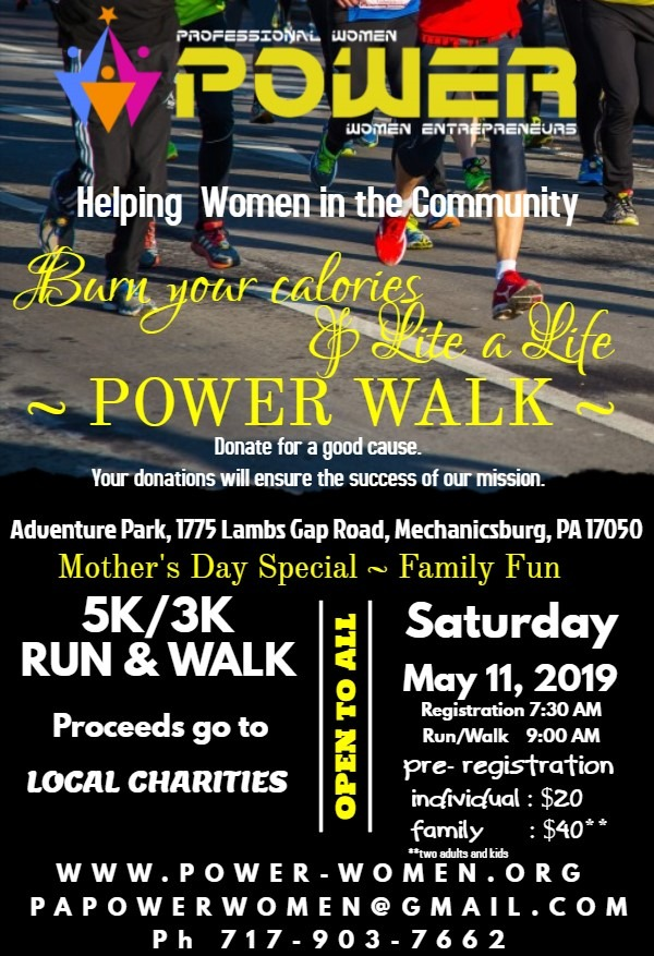 Power Walk – 2019
