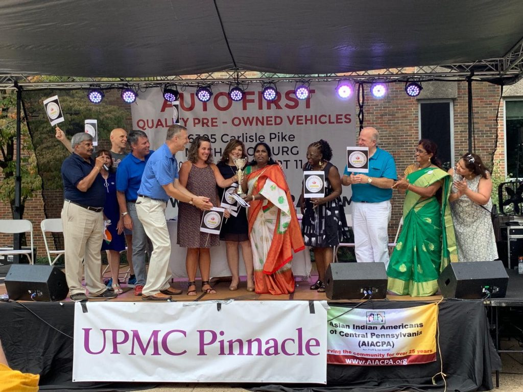 WINNER in AIACPA Parade 2019. Awarded by All Politicians of Harrisburg, PA